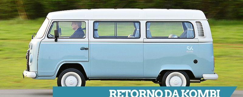 Volkswagen anuncia o retorno da Kombi